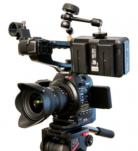 Canon Eos C100 mit Ninja Blade von Atomos 4:2:2