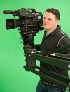 Martin Lohr am Kamerakran